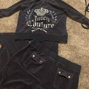 Juicy couture tracksuit outfit